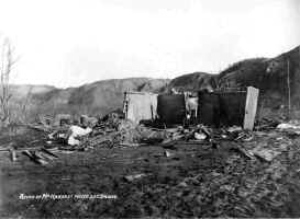 Schoolhouse After Eruption